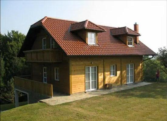 Lesena hiša zaščitena s Silvanolinom