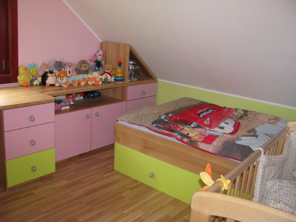 Brunarica otroška soba