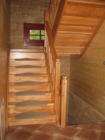 Brunarica: stopnice