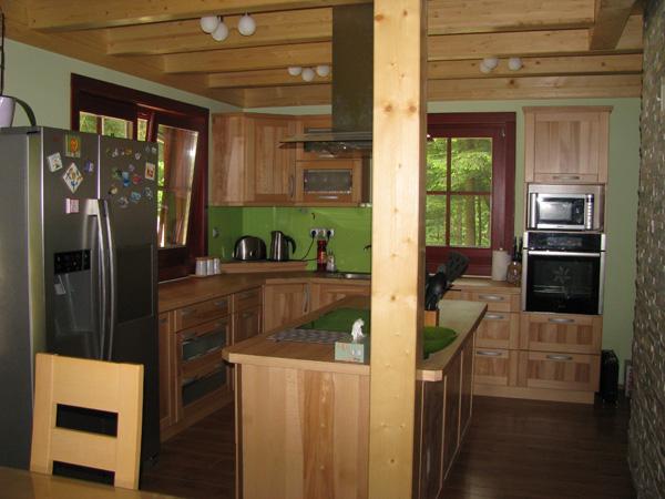 stanovanjska brunarica: kuhinja