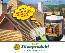Zaščita lesa - Silvaprodukt d.o.o.