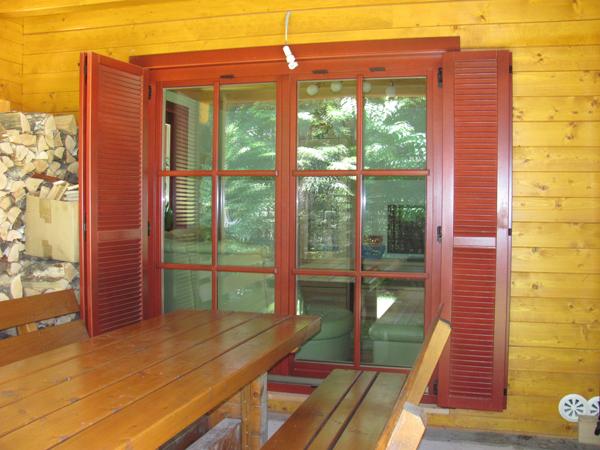 Balkonsko okno Glin