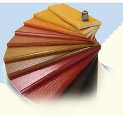 Zaščita lesa - barvna paleta
