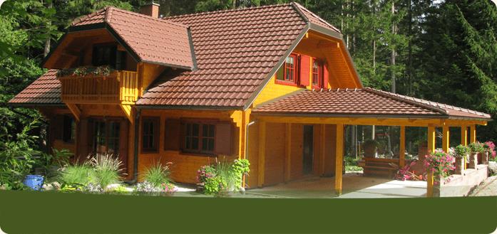 Nina lesena hiša